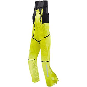 Spidi Fluorescent Yellow Salopette Motorcycle Rain Suit