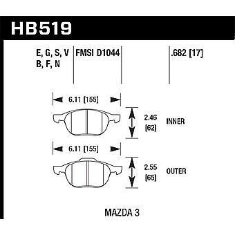 Hawk Performance HB519B.682 HPS 5.0