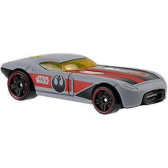 Hot Wheels Star Wars trykstøbt køretøjer - hurtigt Felion