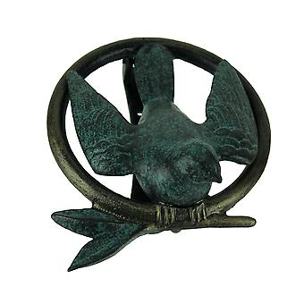 Bird On Branch Ring Decorative Door Knocker