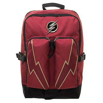DC Comics Flash Double Pocket Laptop Backpack