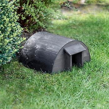 Garden Trading Black Hedgehog House