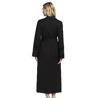 Rosch 1193599-10995 Women's New Romance Black Cotton Robe