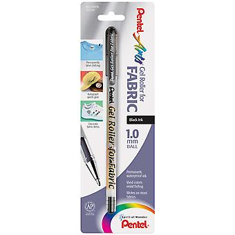 Gel Roller Fabric Pens 1.0Mm Black Bn15 Bpa