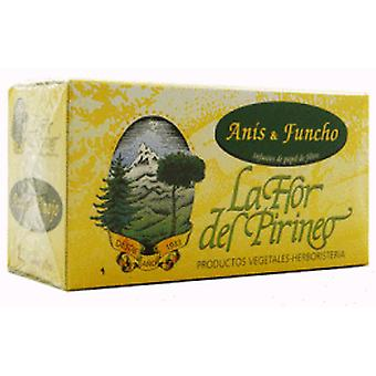 La Flor del Pirineo Anis Green Fennel Infusion + (Diet)