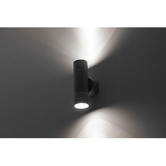 Wall lamp UpDown Pauline wall 2x35W GU10 IP54 grey 10661