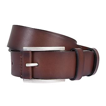 BRAX belts men's belts leather belt cowhide Brown 2022