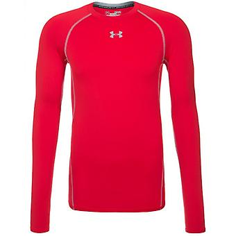 Color de la armadura de Under Armour Herren Kompressionsshirt UA ColdGear®: rojo