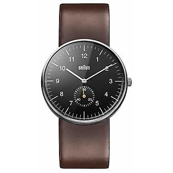 Braun Mens svart brun BN0024BKBRG Watch