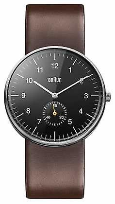 Braun Mens Black Brown BN0024BKBRG Watch