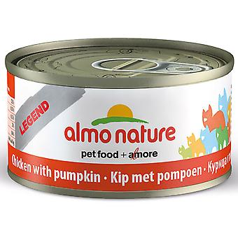 Almo Nature Hfc Natural Cat Adult Chicken & Pumpkin 70g (Pack of 24)