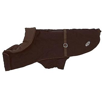 Buster City Dog Coat Bitter Chocolate Extra Small