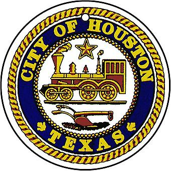 Texas Houston stad Seal auto luchtverfrisser