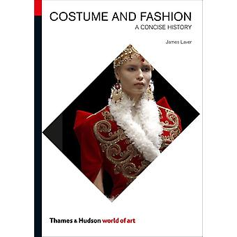Costume and Fashion: A Concise History (World of Art) (Paperback) by Laver James Haye Amy De La