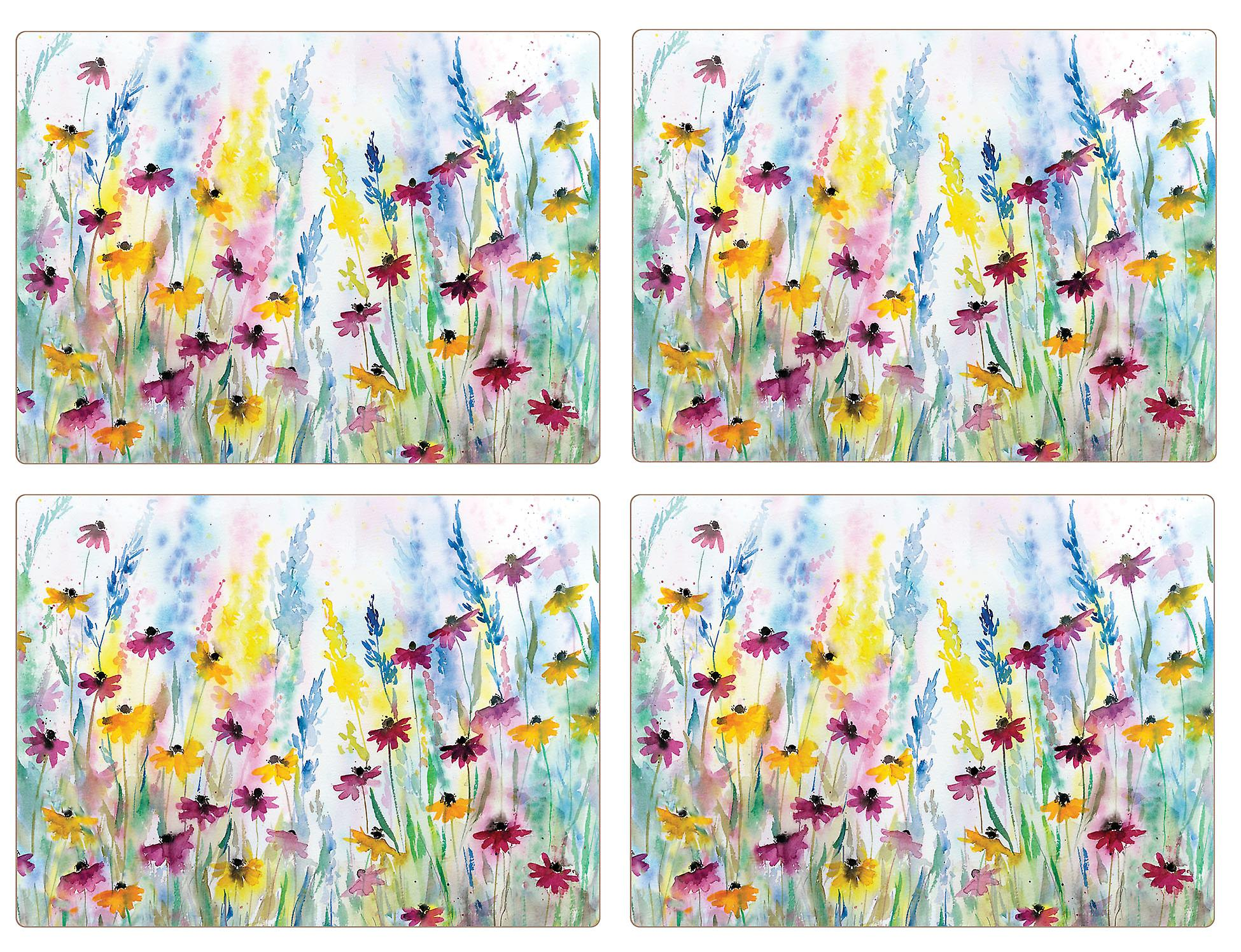 I Style Daisy Field Placemats, Set of 4