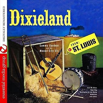 Sammy Gardner & His Mound City Six - Dixieland From st. Louis [CD] USA import
