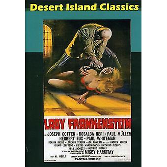 Lady Frankenstein [DVD] USA importerer