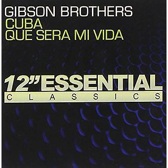Gibson Brothers - importación de Estados Unidos Cuba/Que Sera MI Vida [CD]