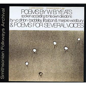 Poems by W.B. Yeats & Poems for Several Voices - Poems by W.B. Yeats & Poems for Several Voices [CD] USA import