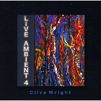 Clive Wright - Live omgivende 4 [CD] USA import