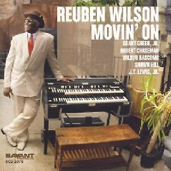 Reuben Wilson - Movin' på [CD] USA import