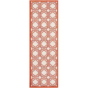 Marokkanske fliser elfenben & Orange Hall Runner - Safavieh