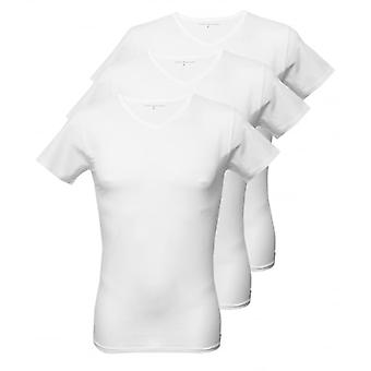 Tommy Hilfiger 3-Pack Premium V-neck T-Shirts, White