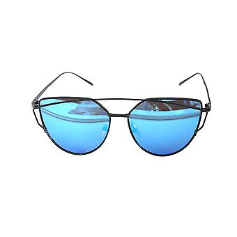 RetroUV® - Wayfare Inspired Classic Large Square Horn Rimmed Sunglasses