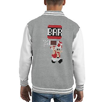 Al Bar rospo Super Varsity Jacket Mario capretto