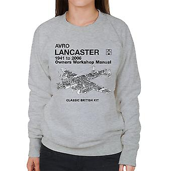 Haynes Owners Workshop Manual Arvo Lancaster 1941 to 2006 Women's Sweatshirt