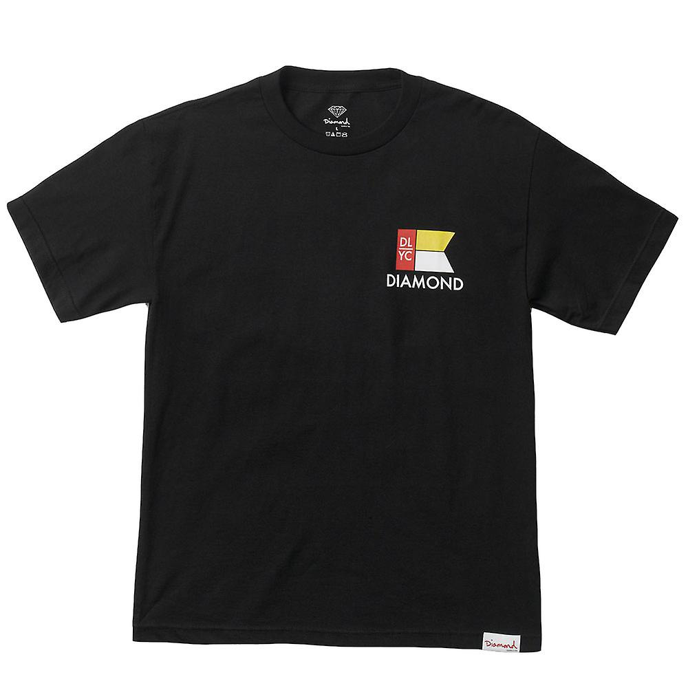 Diamond Supply Co Yacht Flag T-shirt Black