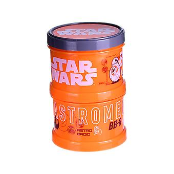 Official Star Wars BB8 Single Stackable Snack Pot