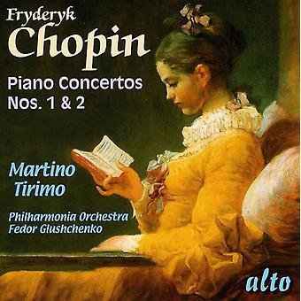 F. Chopin - Fr D Ric Chopin: Piano Concertos Nos. 1 & 2 [CD] USA import