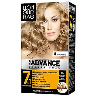 Llongueras Advance Hair Color Colour No. 8-Light Blond