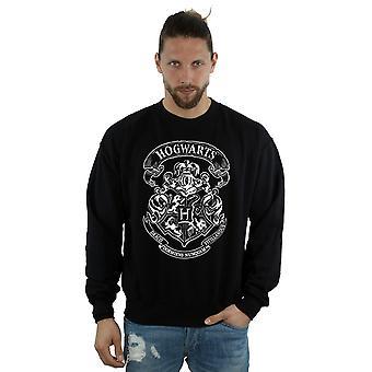 Harry Potter mænds Hogwarts Crest Sweatshirt