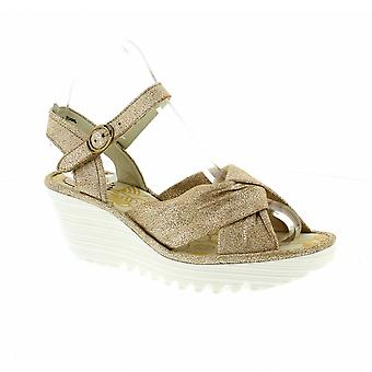 Fly London Yesh - Pearl Cool (Metallic) Womens Shoes