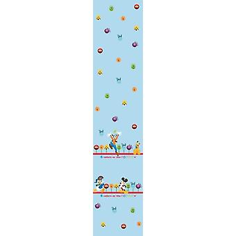 Disney Mickey Mouse Blue Voile window Curtain