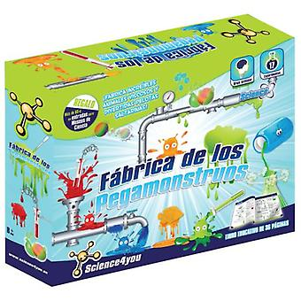 Science 4 You Factory Pegamonstruos (Toys , Educative And Creative , Science And Nature)