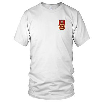 US Army - 53rd Field Artillery Battalion Embroidered Patch - Mens T Shirt