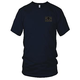 US Army - ODA 516 Embroidered Patch - - OD Green and Black Mens T Shirt