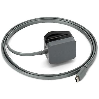 Griffin PowerBlock UK USB Type C reise avgift - svart (Modell nr. GA42156)