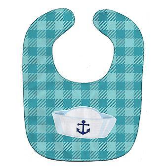 Carolines Treasures  BB8893BIB Nautical Navy Hat Baby Bib