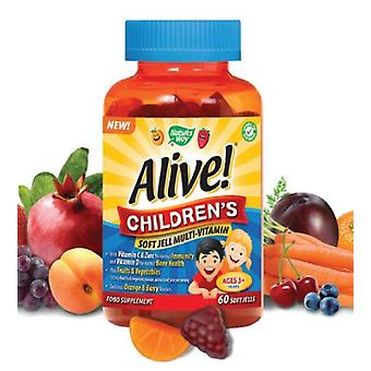 Nature's Way, Alive! Children`s Soft Jells, 60 chewables