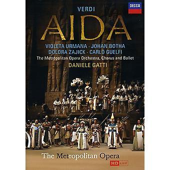 G. Verdi - importazione USA Aida [DVD]
