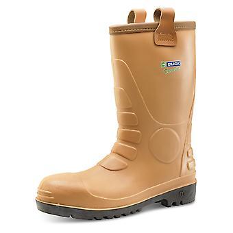 B-Dri Eurorig Waterproof Safety Rigger Boot Tan S5 Src - Er