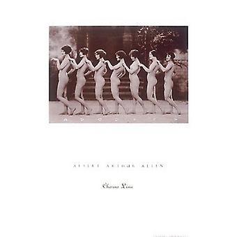 Chorus Line Poster Print par Albert Allen (18 x 24)