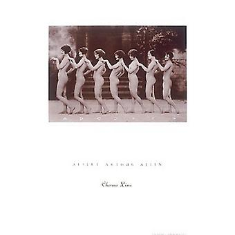 Chorus Line Poster Print by Albert Allen (18 x 24)