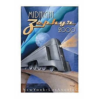 Mitternacht Zephyr 2000 Poster drucken von Michael Kungl (28 x 40)