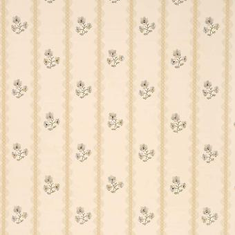 Sanderson Cream Wallpaper Roll - Patterned Flat Amelia Design - DHONAM101