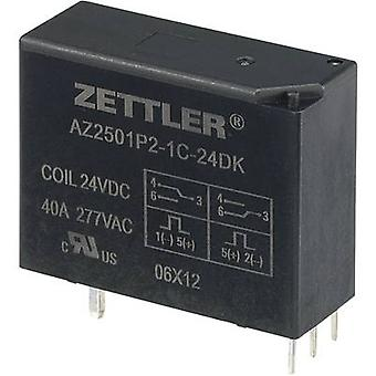 PCB relays 24 Vdc 50 A 1 change-over Zettler Electronics